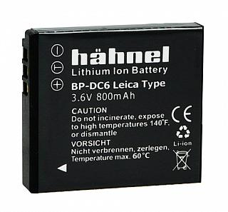 Haehnel (Replacement) Lithium-Ion Battery BP-DC6-US for Leica C-Lux 2 & 3