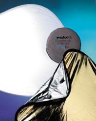 Westcott 4 in 1 Gold/Silver Illuminator Reflector Kit 42 in.
