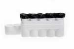 120 Film Hard Case White - Holds 5 Rolls of 120 Size Film