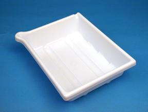 Arista Developing Tray - Accommodates 12x16 inch print size - White