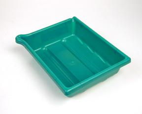 Arista Developing Tray - Accommodates 8x10 inch size prints - Green