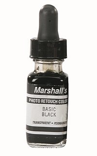 Marshalls Retouch Dye - Basic Black 1/2 oz.