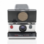 Polaroid SX-70 Sonar Camera from Impossible - Silver