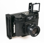 Instant Film Back for Holga Camera (Uses Polaroid 669/690 & Fuji FP-100C/FP-3000B type films)