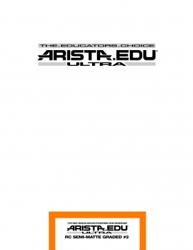 Arista EDU Ultra RC Semi-Matte Grade #2 8x10/25 Sheets