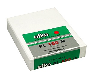 Efke PL 100 M iso 100 3.25 x 4.25 inches/50 sheets
