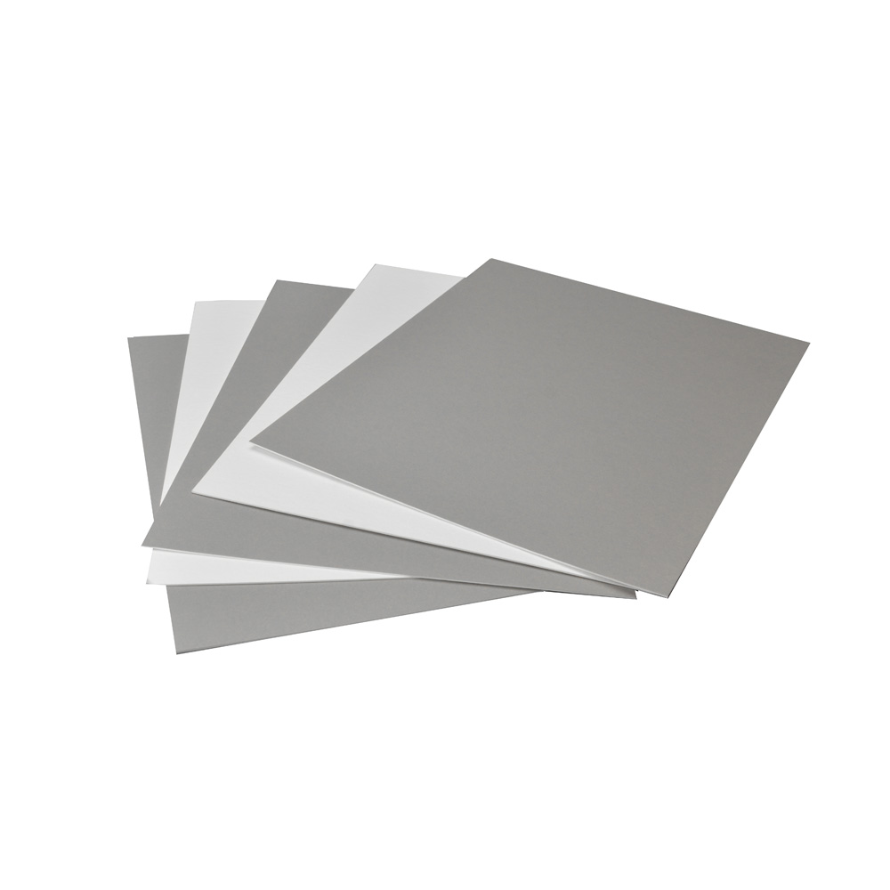 Arista Mat Board 11x14 4 Ply Tv Gray White 25 Pack
