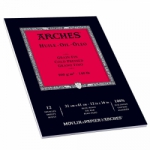 Arches Oil Paper Pad 300GSM Paper for Handcoloring - 9x12/12 sheet pad