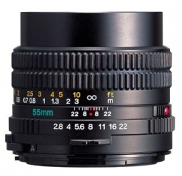 Mamiya 55mm f/2.8N Manual Focus Lens for Mamiya 645e