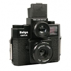 Holga 120 TLR Twin Lens Reflex Medium Format Plastic Camera