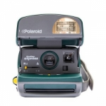 Polaroid 600 Round Camera from Impossible - Green