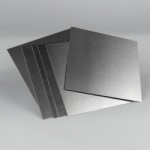 DASS ART Mill-Finish Aluminum Sheets 8 in. x 8 in., 10 Pack