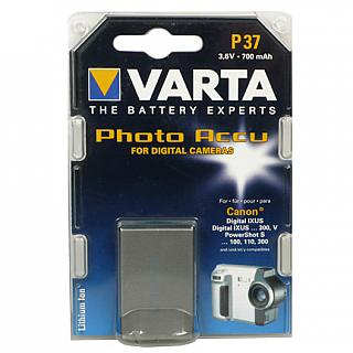 Varta P37 3.6V  700 mah Li-Ion Battery replaces Canon NB-1L for Powershot S110