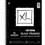 Canson XL Black Spiral Sketchpad - 11x14/40 Sheets