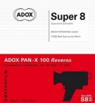 Adox Pan-X Reversal Super 8 Film Cartridge - 15 meters