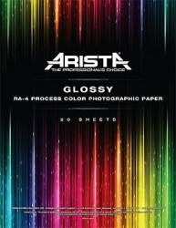 Aristacolor RA-4 Color Paper Glossy - 11x14/50 Sheets