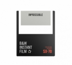 Impossible Instant Black and White Film for SX-70 - White Frame 8 Exposures