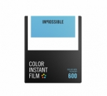Impossible Instant Color Film for 600 - White Frame 8 Exposures