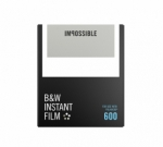 Impossible Instant Black and White Film for 600 - White Frame 8 Exposures