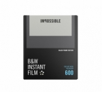 Impossible Instant Back and White Film for 600 - Black Frame 8 Exposures