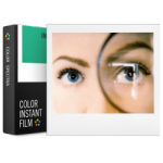 Impossible Instant Color Film for Image/Spectra Cameras - White Frame 8 Exposures