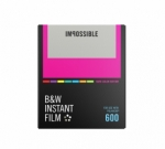 Impossible Instant Black and White Film for 600 - Color Frames 8 Exposures