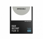Impossible Instant Black and White  for 600 - Round Frame White 8 Exposures