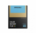 Impossible Instant Color Film for 600 - Gold Frame 8 Exposures