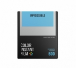 Impossible Instant Color Film for 600 - Silver Frame 8 Exposures