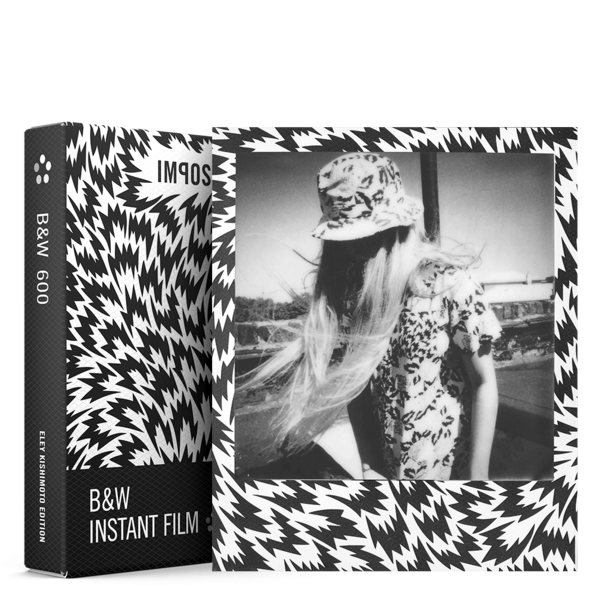 Impossible Instant  B&W Film for 600 Special Edition Eley Kishimoto