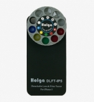 Holga iPhone 5,5S, 5C and SE Detachable Lens and Filter Case - Black