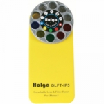 Holga iPhone 5,5S, 5C and SE Detachable Lens and Filter Case - Yellow