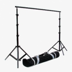 JTL B-912 9.6 ft. Background Stand with 4 Section Bars, Stands and Carry Bag