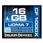 Delkin Devices 16GB Compact Flash (CF) 1000X UDMA 7 - Memory Card