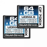 Delkin Devices 64GB Compact Flash (CF) 700X UDMA 6 Memory Card - 2 Pack