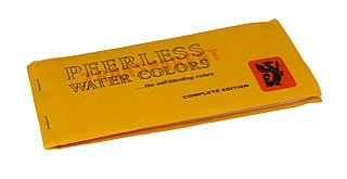 Peerless Black & White (Dry) Handcoloring Dye Sheet (Complete Edition Water Color Book) - 15 sheets