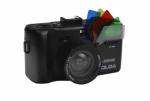 Holga K-200NM 35mm Camera with Fisheye Lens and Viewfinder