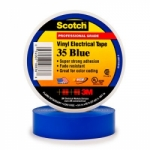 3M Scotch® Vinyl Electrical Tape 35 - 3/4 in. x 66 ft. - Blue