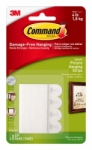 3M Command™ Small Picture Hanging Strips- 8 pack