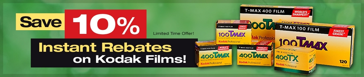 Save 10% on Select Kodak Films