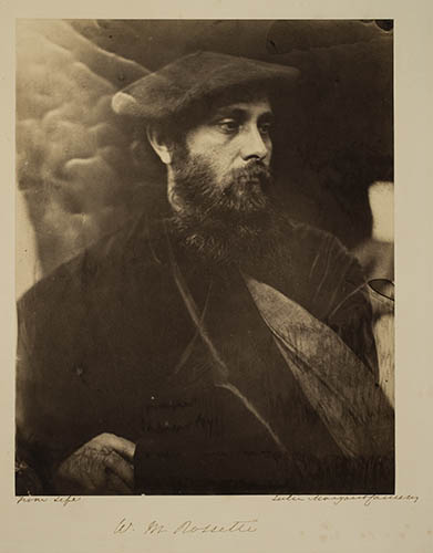 W.M. Rossetti, 1865, by J.M.Cameron