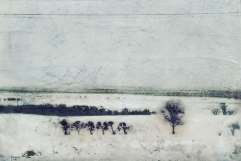 Powerlines and Countryside, © 2009 Jill Skupin Burkholder
