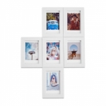 Magnaframe Magnetic Photo Frame for Fuji Instax Mini Prints - 6 pack White