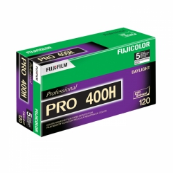 Fujicolor Pro 400H 400 ISO 120 Size - 5 Pack