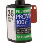 Fuji Fujichrome Provia 100F 100 ISO 35mm x 36 exp. (Single Roll Unboxed)