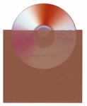 Lineco Corrosion Intercept CD/DVD Storage Sleeves 5.75 x 5.25 in. - 25 pack