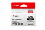 Canon PFI-1000MBK Matte Black Ink Cartridge - 80ml