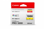 Canon PFI-1000Y Yellow Ink Cartridge - 80ml