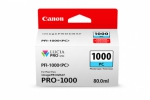 Canon PFI-1000PC Photo Cyan Ink Cartridge - 80ml
