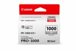 Canon PFI-1000GY Gray Ink Cartridge - 80ml